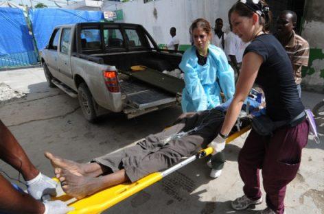 Hasta 200 mil haitianos podrían contraer cólera:  ONU