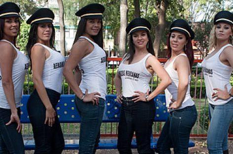 Saldrán aeromozas mexicanas en Playboy