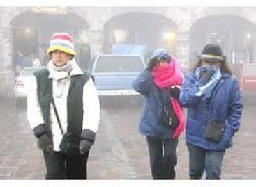 Prevén temperaturas bajo cero en 12 estados; en Oaxaca entre 0 y 5 grados