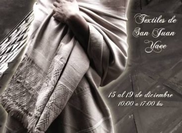 Presentan Expoventa tejedoras de San Juan Yaee en el Museo Textil
