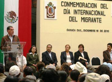 Gobierno de Gabino Cué por derecho a no emigrar