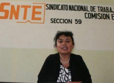 <strong>Cué agudiza conflicto magisterial al reconocer sólo a la 22, advierte sección 59 de Elba Esther Gordillo </strong>