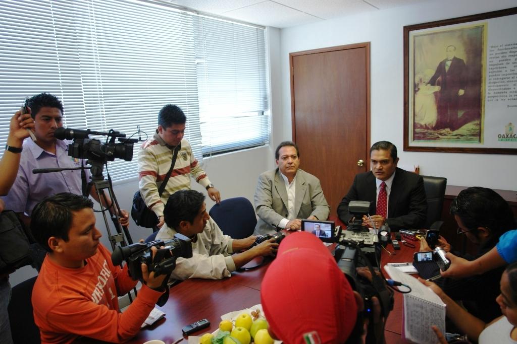 Secretario de Seguridad Oaxaca