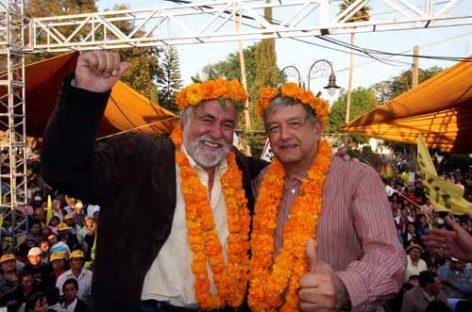 Rechazan López Obrador y Encinas alianza electoral con el PAN, en el Edomex