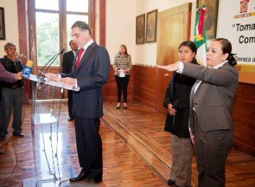 Rinde protesta Eréndira Cruzvillegas como Comisionada de Derechos Humanos en Oaxaca