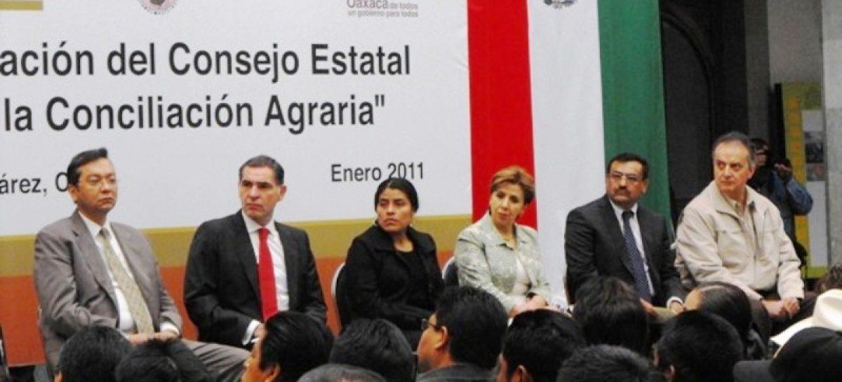 Instalan Consejo Estatal para la Conciliación Agraria; buscarán solución a 134 conflictos