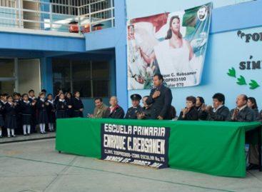 """Inicia programa de """"Fortalecimiento de los símbolos patrios"""" en primarias de Oaxaca"""
