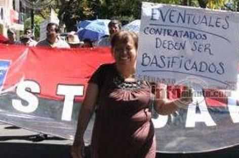 """Paraliza por 12 horas Sindicato a la Universidad Autónoma """"Benito Juárez"""" de Oaxaca"""