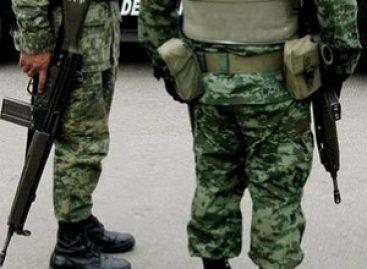 Impide Ejército linchamiento en San Dionisio Ocotepec Oaxaca