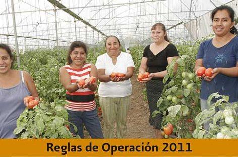 Mil 935 mp invertirá la SRA en apoyo al campo en 2011