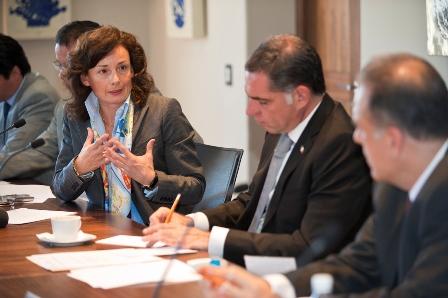 Directora del Banco Mundial (BM) para Colombia y México