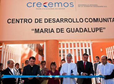 España, Italia y México fundan centro comunitario, inaugura Gabino Cué