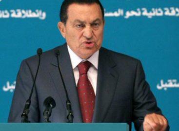 Cae Hosni Mubarak, presidente de Egipto