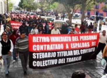 Sindicato de la Universidad de Oaxaca, prorroga su huelga 4 horas