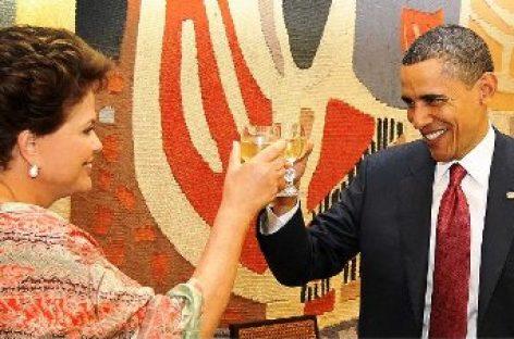 Concluye Obama viaje a Brasil y viaja a Chile