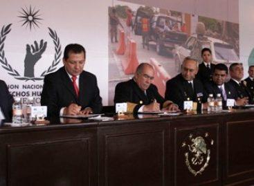 La Secretaria de Marina – Armada de México y la CNDH, firman convenio de colaboración