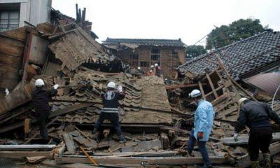 Japon imagen terremoto