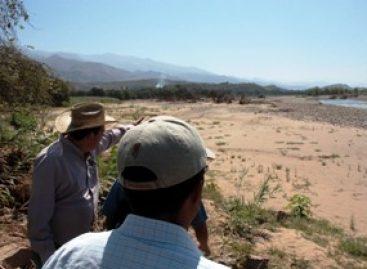Construirán bordos en márgenes del Río Grande Cuicatlán