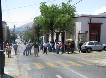 Protestan contra edil Ugartechea Begué, por resultados electorales