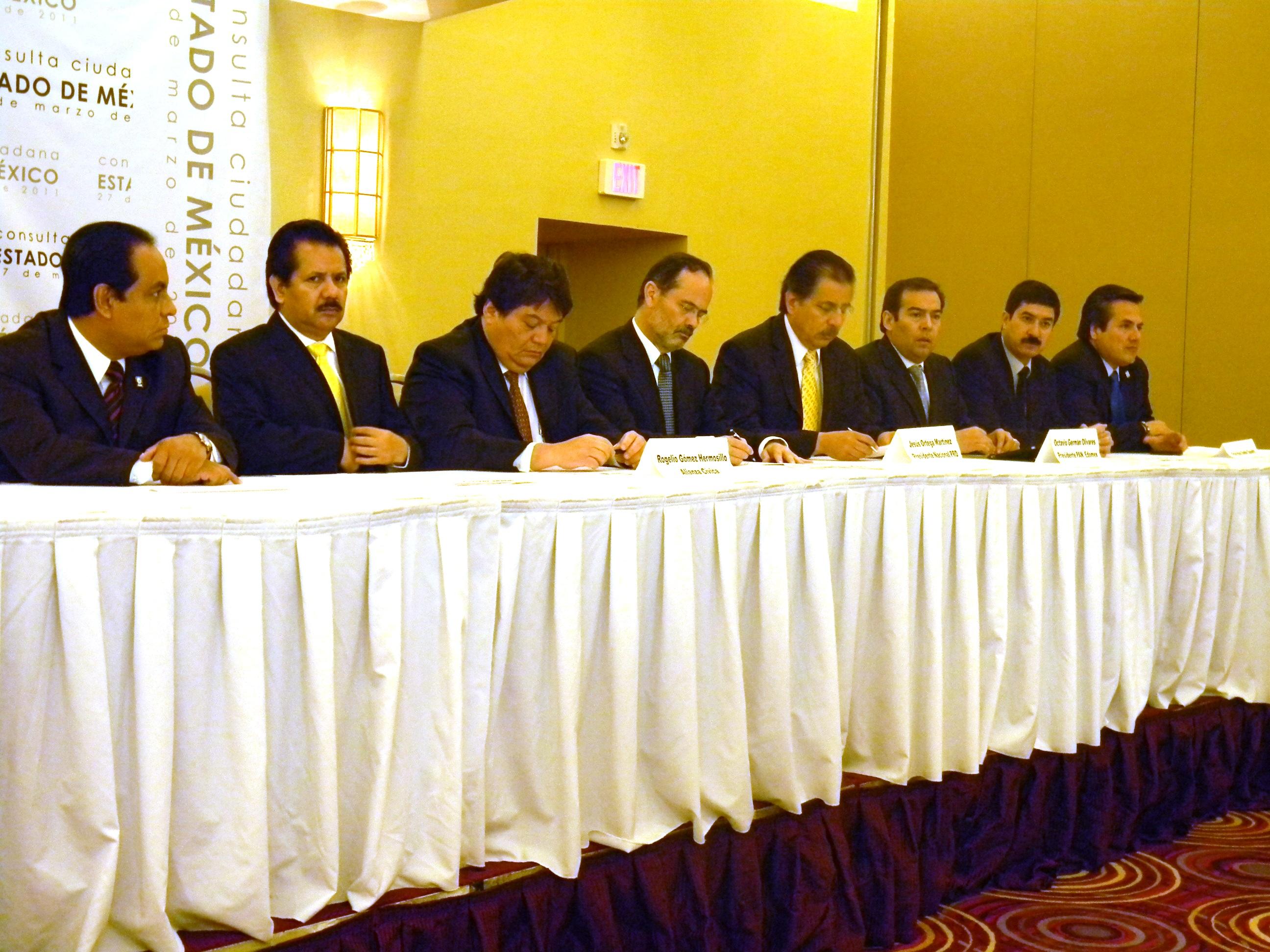 Pan y PRD conferencia de prensa