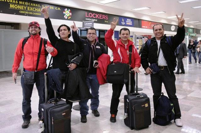 SRE mexicanos arriban de Libia