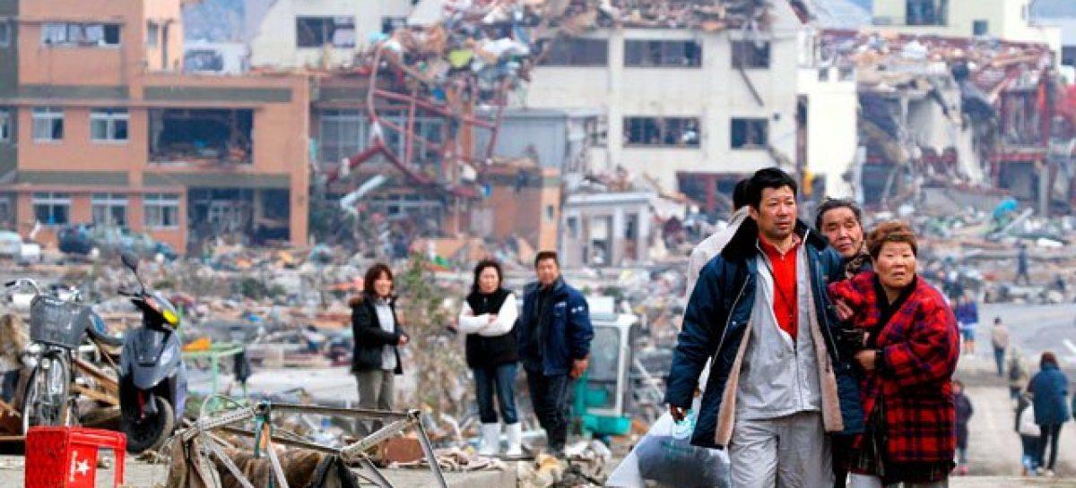 En Japón aumenta la cifra de muertos y desaparecidos, suman 21 mil