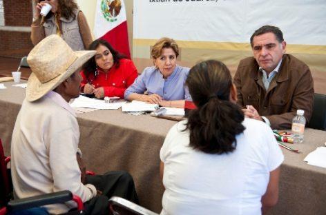 Ejercerán dos mil mdp para resarcir daños por lluvias en la Sierra Juárez