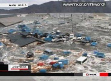 Tsunami provocó ola de 38 metros que arrazó la ciudad de Iwate, en Japón
