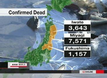 Más de 27 mil muertos y desaparecidos, por cataclismo en Japón