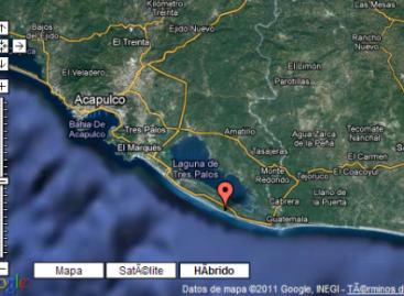 Registran dos replicas por sismo de 5.5 grados registrado en Guerrero