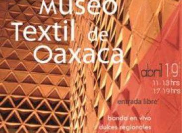Celebra Museo Textil de Oaxaca tercer aniversario