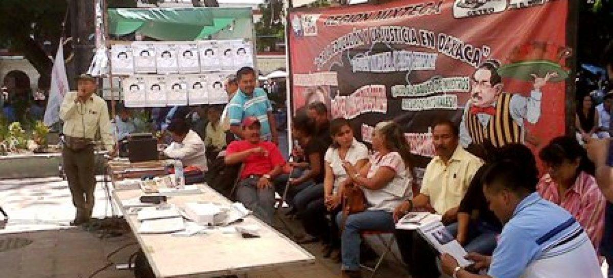 Anuncia marcha magisterial en Oaxaca y en la ciudad del México la 22 del SNTE, el Primero de Mayo
