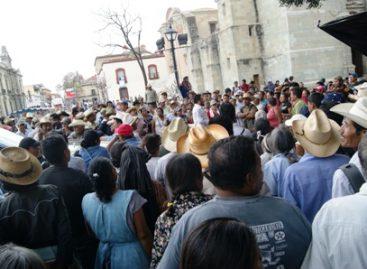 Tensa calma en el Centro Histórico de Oaxaca