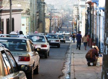 Taxistas paralizan con bloqueo Centro Histórico de la Ciudad de Oaxaca