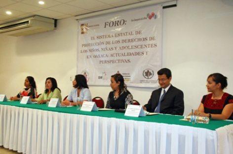 Analizan protección de los Derechos de los Niños, Niñas y Adolescentes en Oaxaca