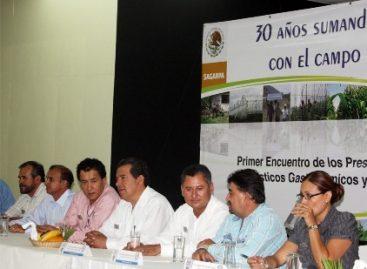 Fortalece agro oaxaqueño presencia de FIRCO: Carrasco Altamirano