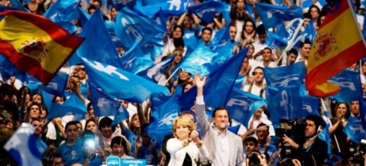 Se hunde el PSOE ante victoria electoral del PP, en los comicios de España