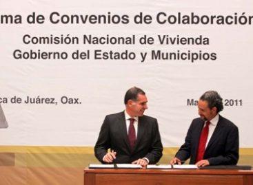 Oaxaca accederá a 100 mdp destinados a vivienda por la CONAVI