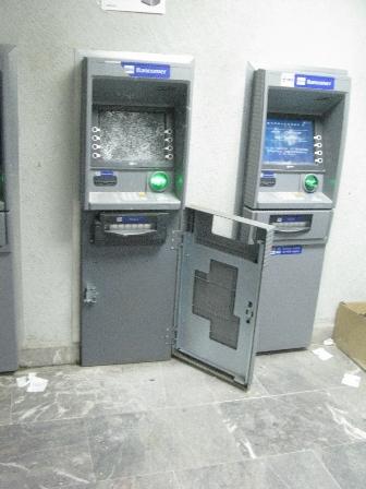 intentaron robar dinero de cajero autom tico de bancomer