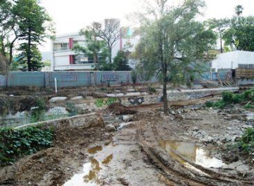 Obra del IMSS contamina, destruye lecho y riberas del río de San Felipe