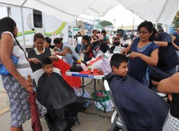 Otorgan más de 300 servicios durante la Jornada por tu salud, en el Mercado de Abastos