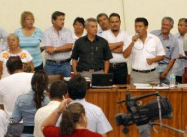 Insuficiente y nula la respuesta de Gabino Cué, al pliego de la 22