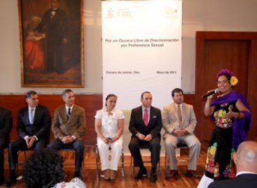 Presentan Protocolo para Prevenir la Discriminación por Preferencia Sexual en Oaxaca