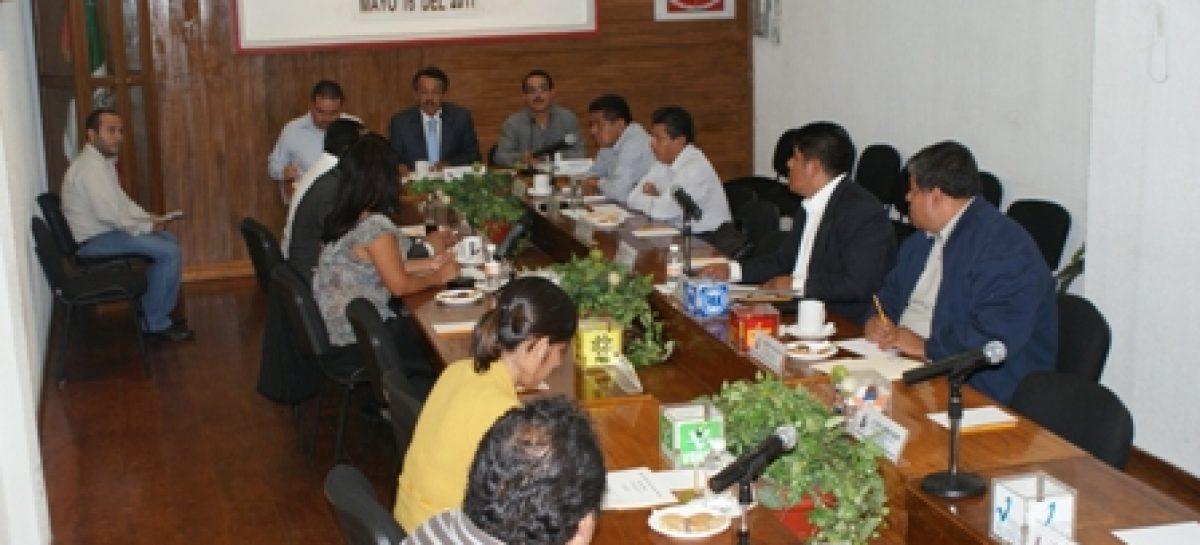 Validan elección de concejales electos en Santa María Peñoles
