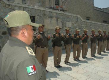 Presentan examen 55 elementos de Tránsito Municipal para elevar su rango