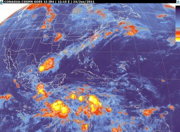 Se esperan lluvias en gran parte del país, para este día