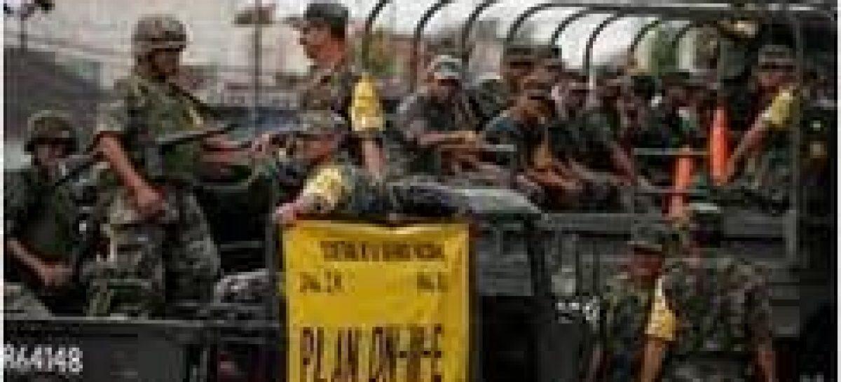 Ejército en alerta por lluvias, para aplicación  Plan DN-III-E