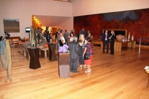 Exposición en el Club de Industriales, en la capital del país