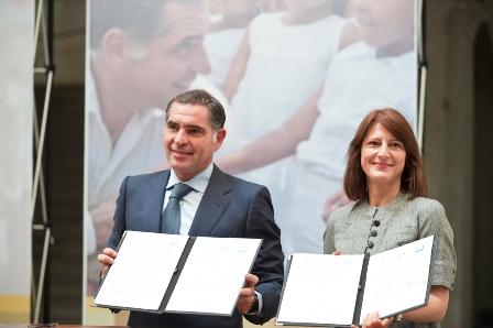 Gobernador de Oaxaca y representante de la UNICEF