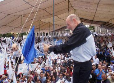 Promete Bravo Mena un gobierno honesto y terminar con la corrupción